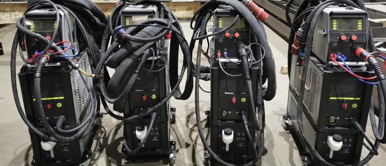 Запуск и настройка сварочных полуавтоматов EVOMIG Basic 400 EVOSPARK