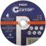 Профессиональный диск отрезной по металлу Cutop Profi Т41-180 х 2,5 х 22,2 мм