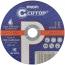 Профессиональный диск отрезной по металлу и нержавеющей стали Cutop Profi Т41-150 х 1,6 х 22,2 мм