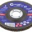 Круг лепестковый торцевой Cutop Profi (80 лепестков): 125 х 22,2 мм, Р80