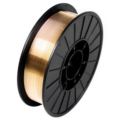 Проволока сварочная омеднённая MIG EWC SG2, d 1.0 мм (пласт. 15 кг)