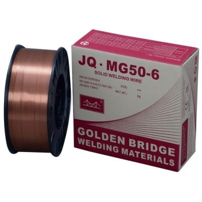 Проволока сварочная омедн. JQ.MG50-6/ER70S-6 d=0,6 мм D200 5 кг